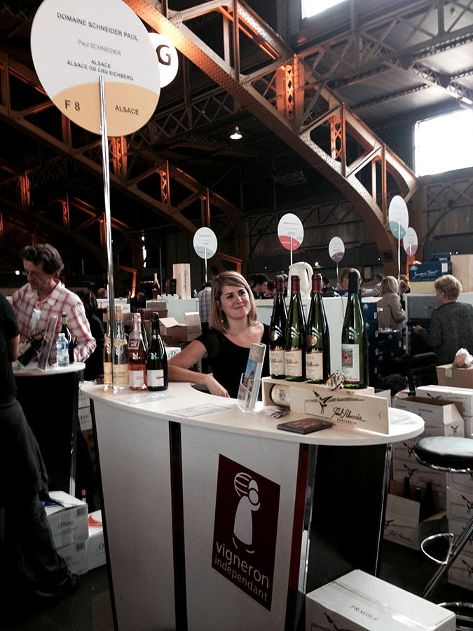 Salons viticoles domaine paul schneider - Salon des vignerons independants lyon ...